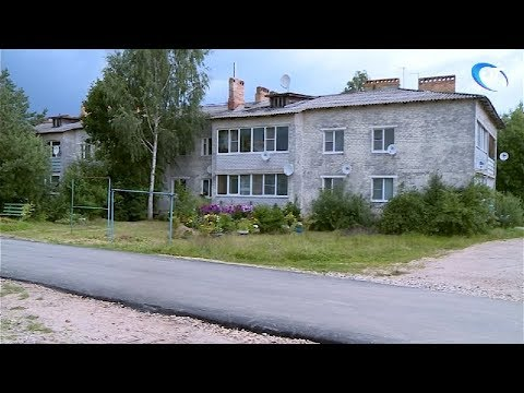 В Боровичах полным ходом идет благоустройство дворов