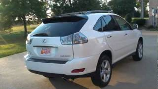 2009 LEXUS RX 350 AWD PEARL WHITE FOR SALE SEE WWW SUNSETMILAN COM