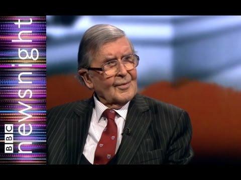 Lord Jenkin on Stoke Mandeville and Jimmy Savile - Newsnight
