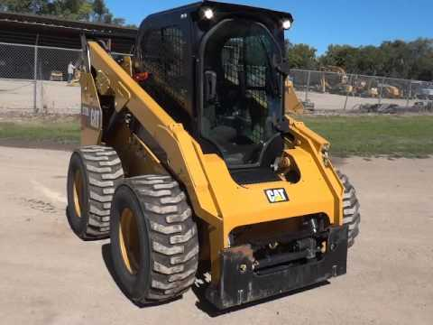 CATERPILLAR MINICARGADORAS 272D2STD2C equipment video FDOPLf20Od8