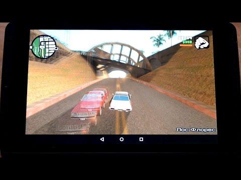 Тест игр на игровом планшете Nvidia Shield (видео)