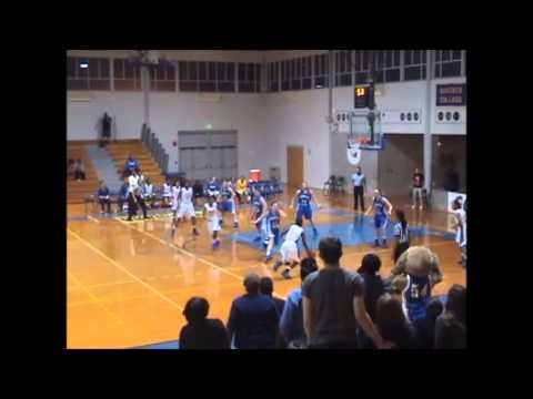 Monique Welch's Game-Winner vs. Merchant Marine - 12/7/13