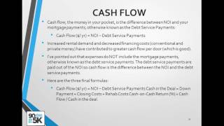 Intro to Cash Flow