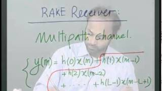 Mod-01 Lec-16 CDMA Advantages And RAKE Receiver