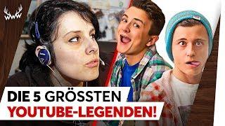 Video Die 5 GRÖSSTEN YouTube-Legenden! | TOP 5 MP3, 3GP, MP4, WEBM, AVI, FLV Mei 2018