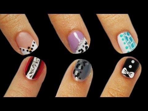 6 nail art facili per unghie corte!