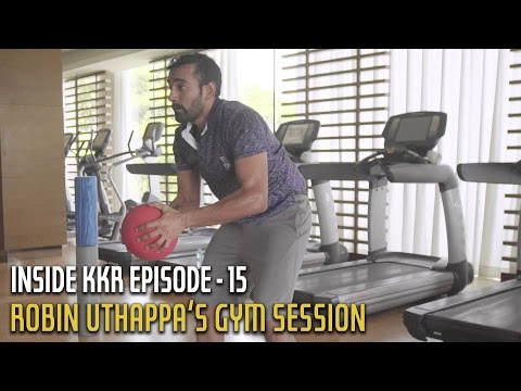 Robin Uthappa's Gym Session | Inside KKR - Episode 15 | VIVO IPL 2016