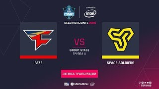 FaZe vs Space Soldiers - ESL One Belo Horizonte - map1 - de_inferno [Enkanis, ceh9]
