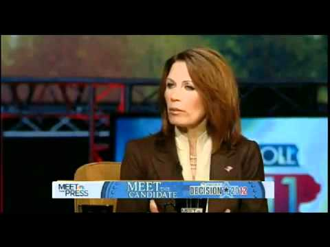 bachman - Bachman and her views on gay and lesbians, fumbling through her words!! Flip Flopper! Ron Paul the only person to be trusted out of all candidates and the Pr...