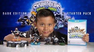 Skylanders SWAP FORCE - DARK EDITION Starter Pack - Unboxing, Review & Gameplay!
