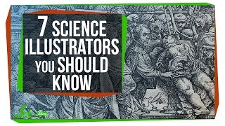 7 Science Illustrators You Should Know by  SciShow