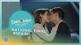 Video Alfred and Amaia - Tu Canción - Spain - National Final Performance MP3, 3GP, MP4, WEBM, AVI, FLV Maret 2018