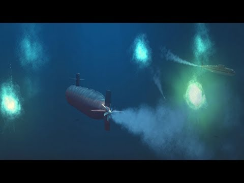 Подводная Дуэль Атомных Подлодок ! В Симуляторе Cold Waters на ПК !