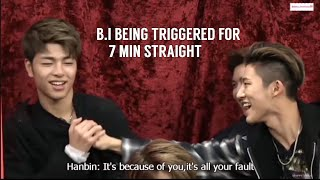 Download Video B.I being triggered/mad for 7 min straight compilation MP3 3GP MP4