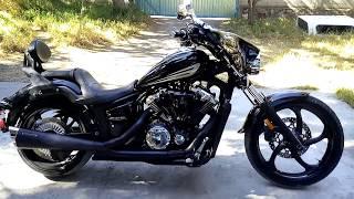 10. Yamaha Stryker 1300cc mod 2011