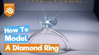 diamond ring on blender!