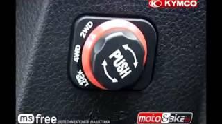 8. KYMCO UXV 700i Test ride