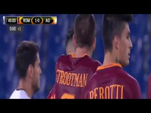AS Roma vs Astra Giurgiu 4 0 Highlights   Europa League   Sept, 29 2016
