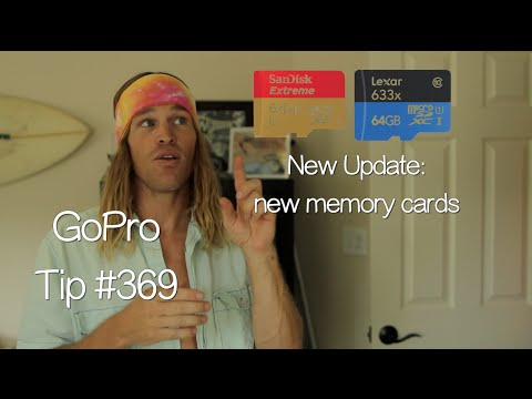 cards - Don't forget to watch in HD! Comment, Thumbs up, Share, and Subscribe! Cards I use right now : Lexar 633x 64gb, Lexar 600x 32gb and Sandisk Extreme 64gb GoPro Tip Playlists Part 1: http://www.yo...
