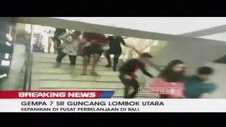 Video Detik-Detik Gempa 7 SR Guncang Lombok Hingga ke Bali, Berpotensi Tsunami MP3, 3GP, MP4, WEBM, AVI, FLV Desember 2018