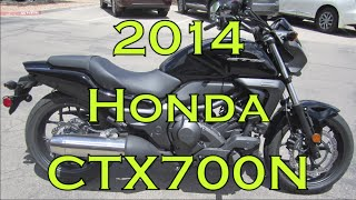 6. Demo Ride: 2014 Honda CTX700N