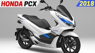 6. NEW 2018 Honda PCX Hybrid And Electric Scooter - High Output Battery