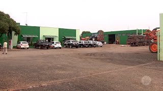 Bandidos roubam R$ 500 mil em agrotóxicos de empresa de Santa Cruz do Rio Pardo