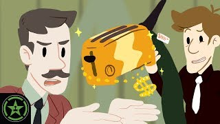 AH Animated - Bread Leg Toaster