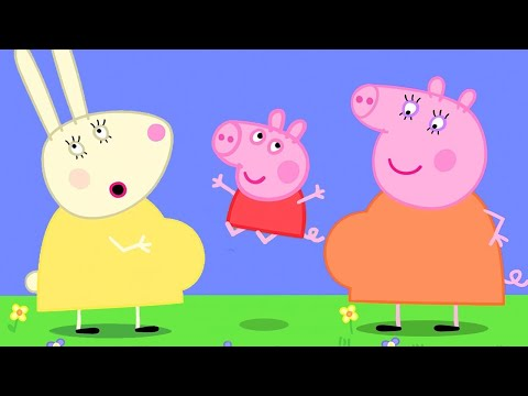 Peppa Pig Official Channel | Mummy Rabbit's Bump❤️ Come and Have a Look with Peppa Pig