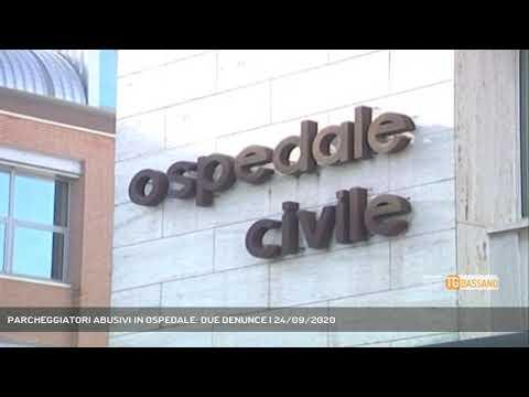 PARCHEGGIATORI ABUSIVI IN OSPEDALE: DUE DENUNCE   24/09/2020