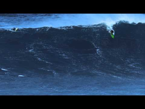 Greg Long at Jaws 30JAN12 – Ride of the Year Entry in Billabong XXL Big Wave Awards 2012 - CCTV Video placeholder
