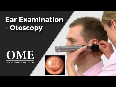 Ent - This video - produced by students at Oxford University Medical School in conjunction with the ENT faculty - demonstrates how to perform an examination of the...