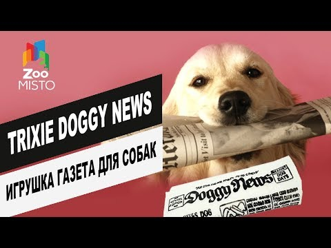 Trixie Doggy News игрушка газета для собак