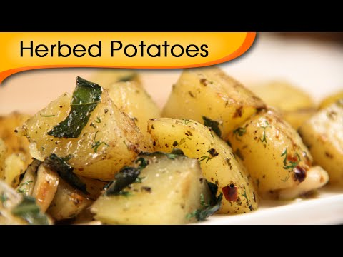 Herbed Potatoes | Party Starter Potato Recipe | Ruchi Bharani