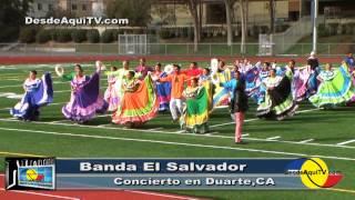 DesdeAquiTV.com, El Año Viejo, Con La Banda El Salvador 2013, En Concierto De Duarte.