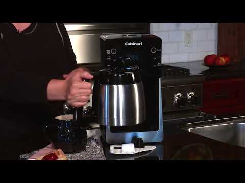 Cuisinart PerfectTemp 12 Cup Thermal Programmable Coffeemaker (DCC 2900) Demo Video