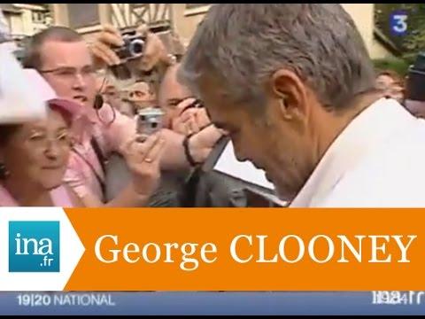 George Clooney à Deauville  - Archive vidéo INA