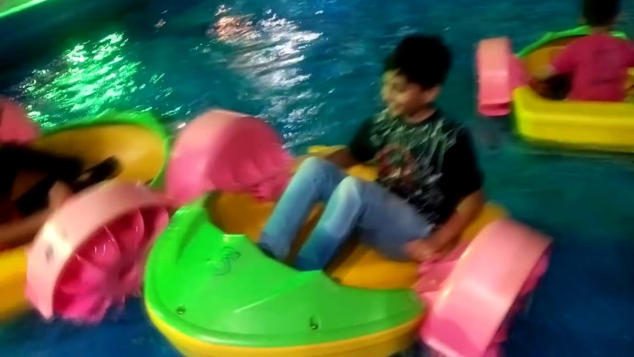 Children Playing in the Park on Water Boats | Kids Playground | Water Sports For Kids
