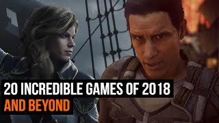 From the look of these 20 games 2018 is going to be a big year.For more from GamesRadar Subscribe: http://goo.gl/cnjsn1http://www.gamesradar.comhttp://www.facebook.com/gamesradarhttp://www.twitter.com/gamesradarhttp://www.twitch.tv/gamesradar
