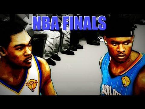 NBA 2k12 My Player Playoffs: NBA Finals Game 1 Kevin Durant vs MVP Neal Bridges Highlights (видео)