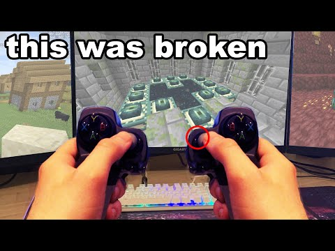 I Used This ILLEGAL Minecraft Controller To Cheat and This Happened...