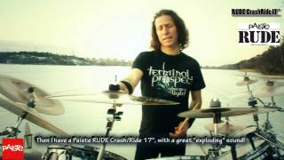 SEBASTIAN ROJAS promoting Paiste Cymbals - Official Promo video (Spanish)