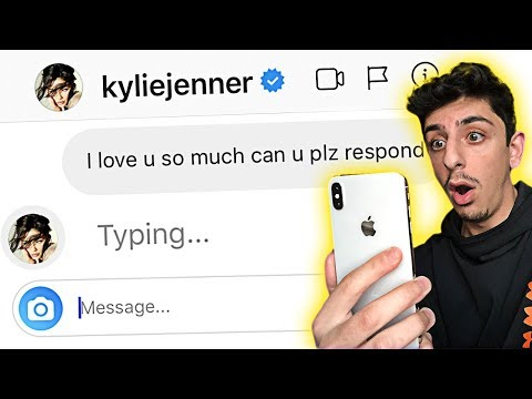 DM'ing 100 CELEBRITIES TO SEE WHO WOULD REPLY.. **it Actually Worked**