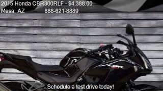 4. 2015 Honda CBR300RLF  for sale in Mesa, AZ 85202 at Inventor