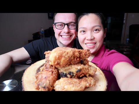 Vlog 581 ll Tự Làm Gà Rán Giống KFC Tại Nhà Ở Mỹ. - Thời lượng: 21:42.