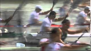 2014 Szeged K4 1000m Men Canoe Sprint World Cup 3