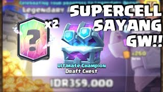 Video BELI DRAFT CHEST DISAYANG SUPERCELL, ISINYA GILA!!! - Clash Royale Indonesia MP3, 3GP, MP4, WEBM, AVI, FLV November 2017