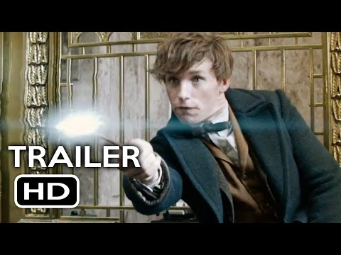 Fantastic Beasts and Where to Find Them Official Trailer #1 (2016) J.K. Rowling Fantasy Movie HD