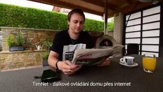 TimNet - Domácí regulace přes internet