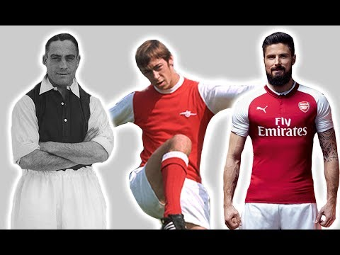 Arsenal's Football Kit History/Evolution | Then And Now